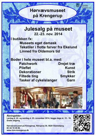 Plakat julesalg 2014